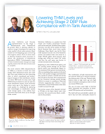 Lowering THM Levels and Achieving Stage 2 DBP Rule Compliance with In-Tank Aeration