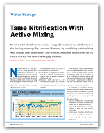 Tame Nitrification with Active Mixing