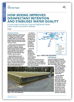 How Mixing Improves Disinfectant Retention & Stabilizes Water Quality
