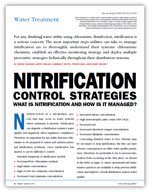 Nitrification Control Strategies