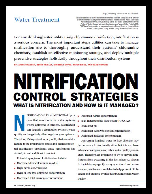 Nitrification Control Strategies